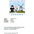 Gymuitvoering SV De Brug 2017 Zeeuws