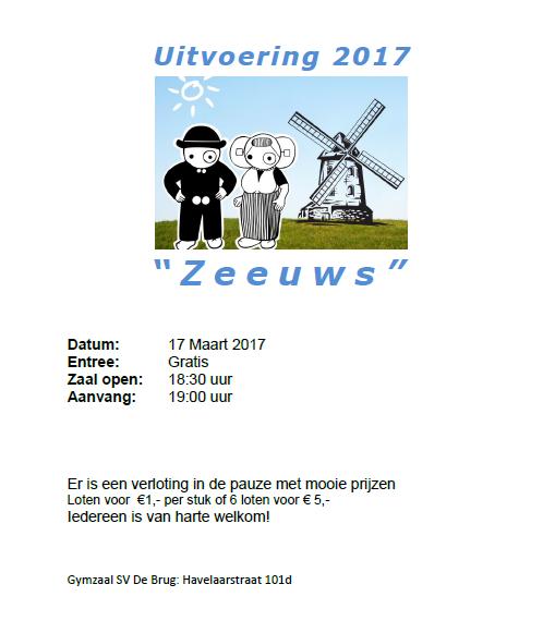 Gymuitvoering 2017 SV De Brug